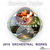 Gordon Tayler's 2010 Orchestral CD album front cover